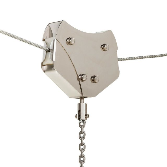 Commercial Braked Zip Wire Trolley