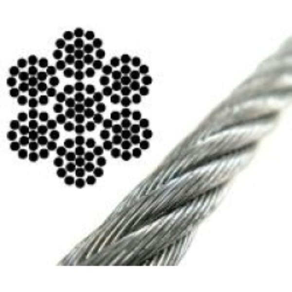 8mm Wire Rope 7x19 Strand